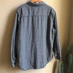 Madewell Tops - Madewell Oversized Boyshirt in mini gingham check